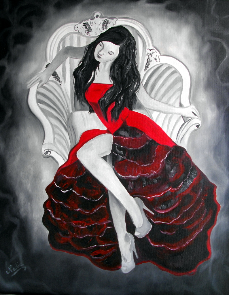 La princesse en rouge